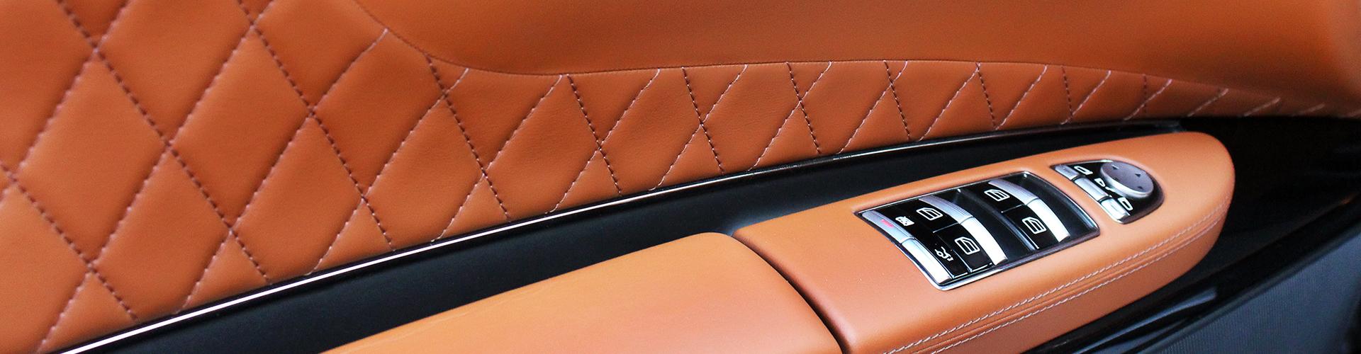 pelle per interni auto